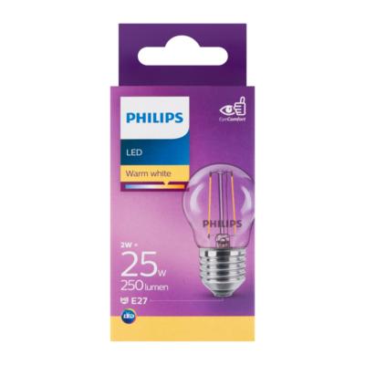 Philips LED Lamp Warm White 2W E