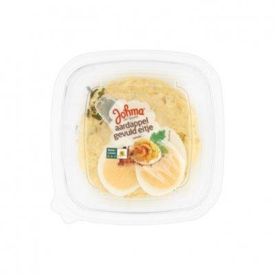 Johma Aardappel-gevuld eitje salade