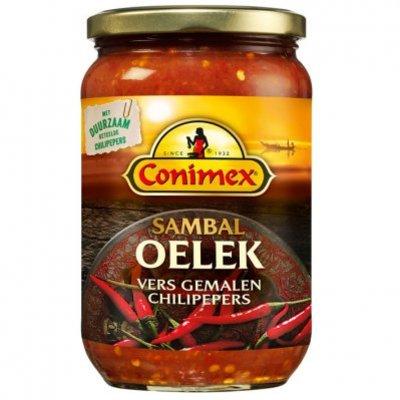 Conimex Sambal oelek vers gemalen chilipepers