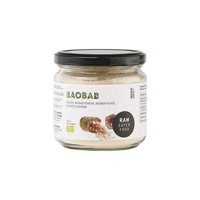 Raw Organic Food Baobab Poeder