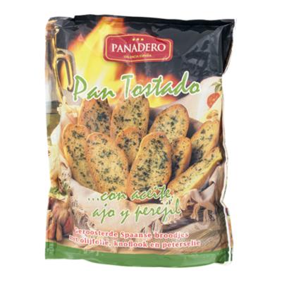Panadero Pan tostado ajo y perejl