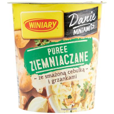 Winiary Danie ziemniaki gerechten van aardappelen