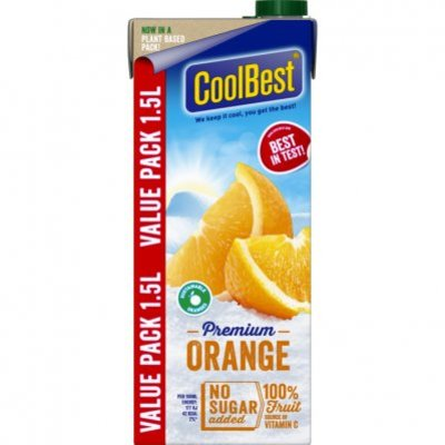 CoolBest Orange voordeel