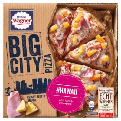 Wagner Big City pizza Hawaii