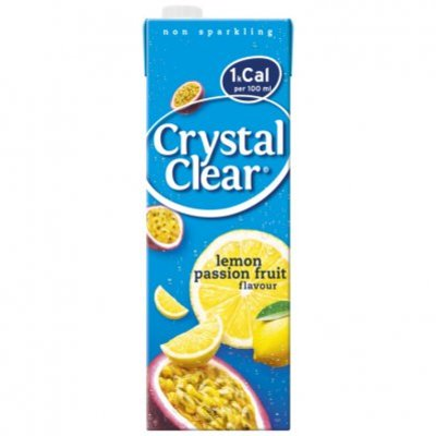 Crystal Clear Lemon passion fruit