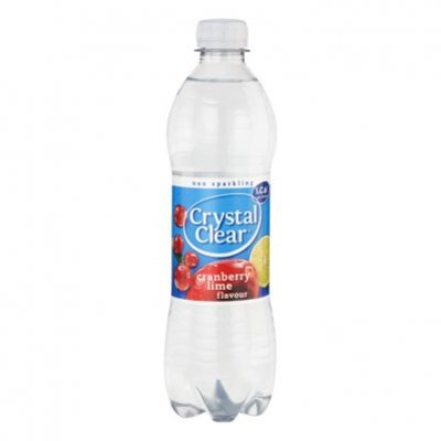 Crystal Clear Non-sparkling cranberry lemon