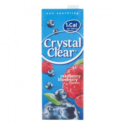Crystal Clear Rasberry blueberry