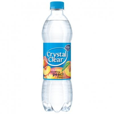 Crystal Clear Sparkling peach