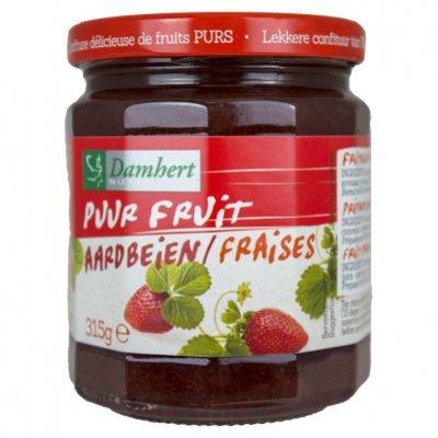 Damhert Aardbeien fruitbeleg