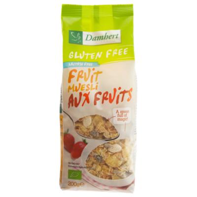Damhert Glutenvrij muesli met fruit bio