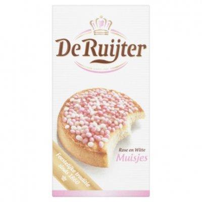 De Ruijter Muisjes roze-wit