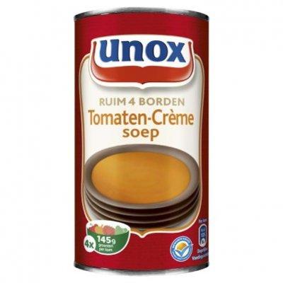 Unox Soep in blik romige tomatencrème soep