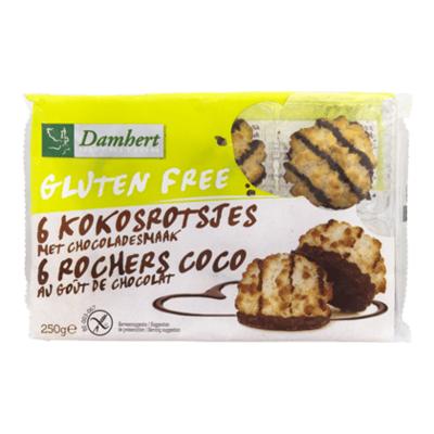 Damhert Glutenvrije kokosrotsjes chocolade