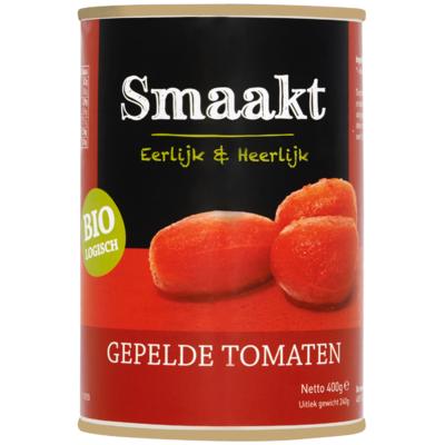 Smaakt Gepelde tomaten