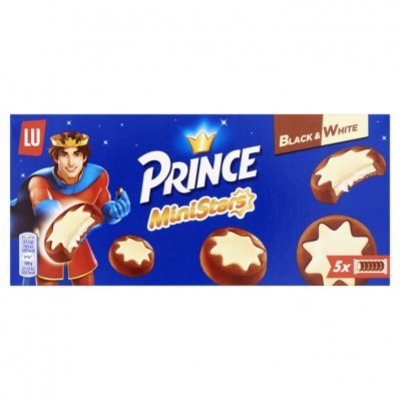 Prince Biscuits ministars black & white