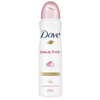 Dove Deodorant spray beauty finish