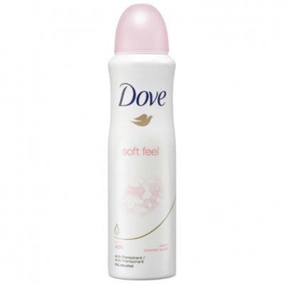 Dove Deodorant spray soft feel