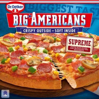 Dr. Oetker Big Americans pizza supreme