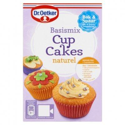 Dr. Oetker Basismix cupcakes naturel