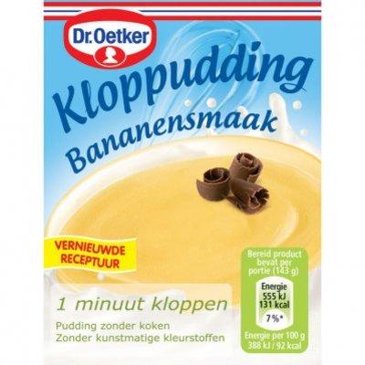 Dr. Oetker Kloppudding banaan