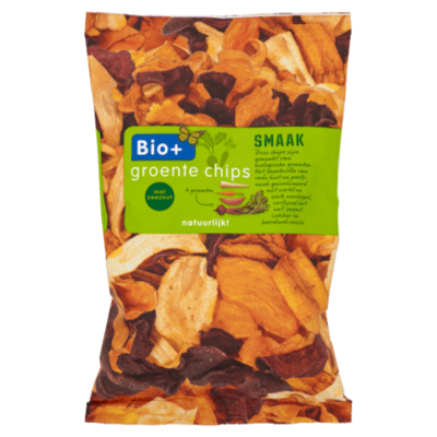Bio+ Biologische groente chips