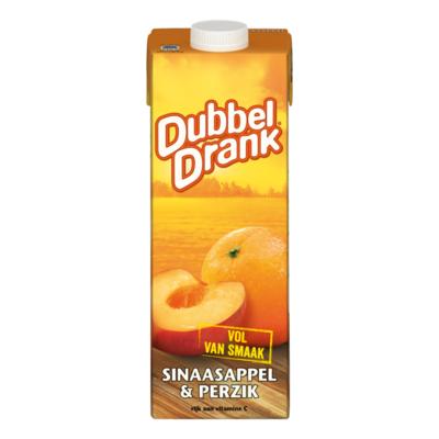 DubbelDrank Sinaasappel & Perzik