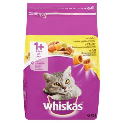 Whiskas Kattenvoer Droog Kip 1+ Jaar 950 g
