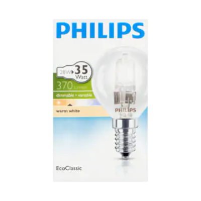Philips EcoClassic Lamp Warm White 28W E