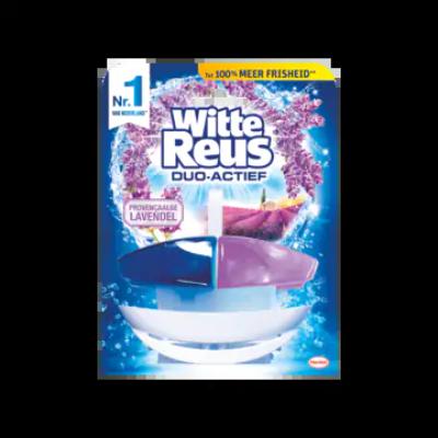 Witte Reus Duo Actief Provençaalse Lavendel Toiletblok