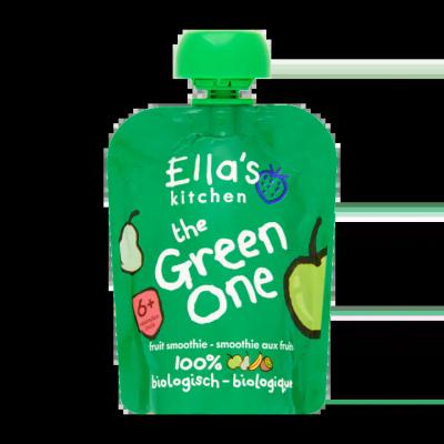 Ella's Kitchen The Green One Fruit Smoothie 6+ Maanden