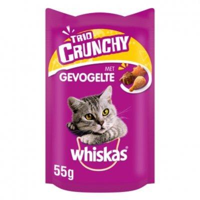 Whiskas Trio crunchy gevogelte selectie