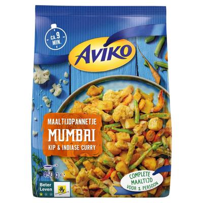 Aviko Maaltijdpannetje Mumbai Kip & Indiase Curry 450 g