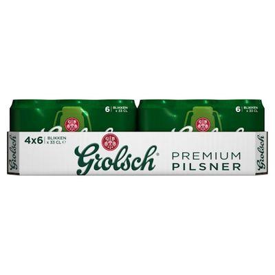Grolsch premium pils blik 24 x 33 cl.