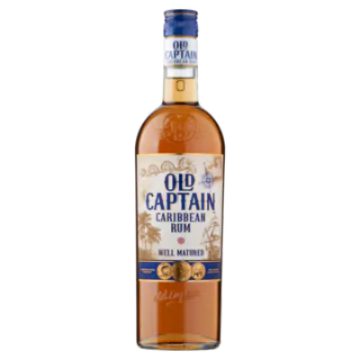 Old Captain Caribbean Rum Well Matured