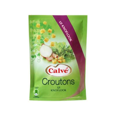 Calvé Croutons Ui Knoflook