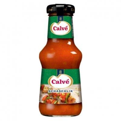 Calvé Saus fles schaschlik