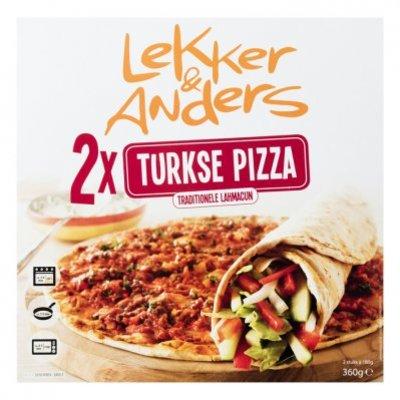Lekker & Anders Turkse pizza