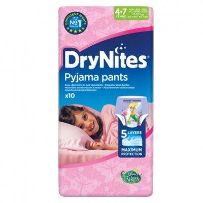 Huggies DryNites luierbroekjes meisje 4-7 jaar
