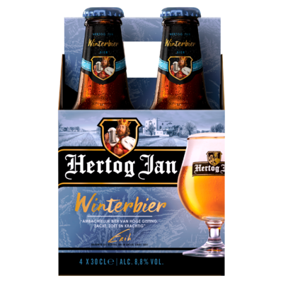 Hertog Jan Winterbier Flessen 4 x 30 cl