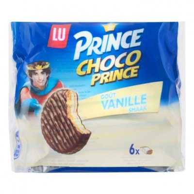 Prince Biscuits choco prince vanille