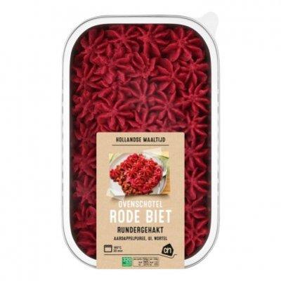 Huismerk Ovenschotel rode biet rundergehakt
