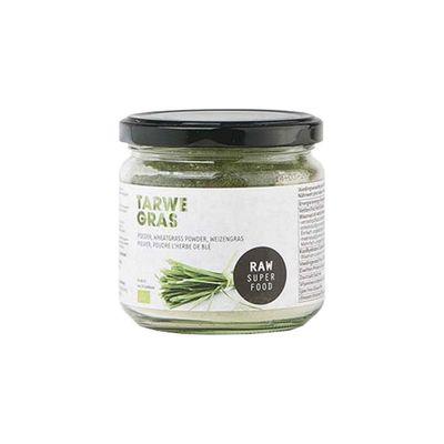 Raw Organic Food Tarwegras Poeder