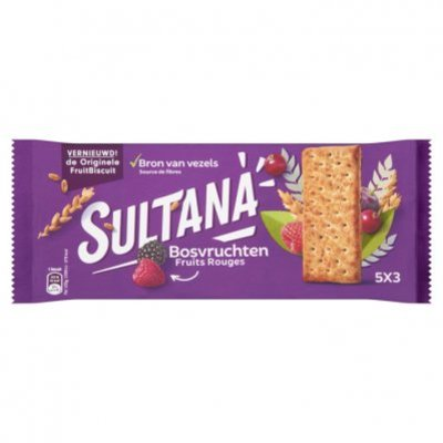 Sultana Fruitbiscuit bosvruchten