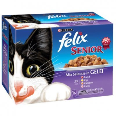 Felix Senior mix selectie in gelei