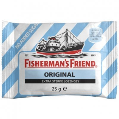 Fisherman's Friend Original strong suikervrij