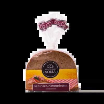 Brood van Soma Schinken Natuurdesem Roggebrood