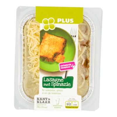 Huismerk Lasagne spinazie
