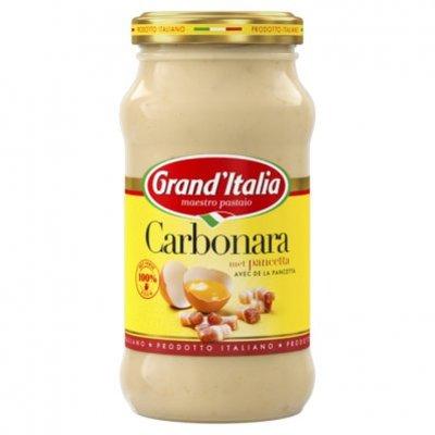 Grand'Italia Carbonara met bacon en kaas