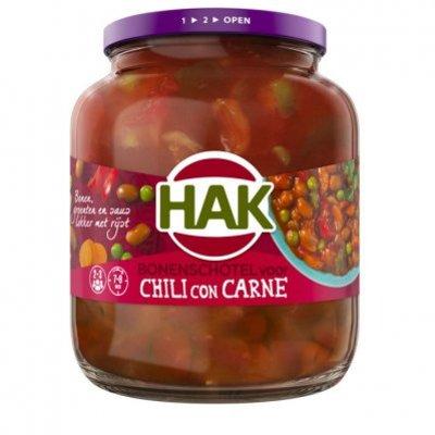 Hak Bonenschotel voor chili con carne