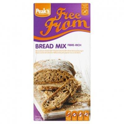 Peak's Vezelrijke broodmix glutenvrij